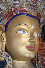 Maitreya Buddha (bag_lady) Tags: maitreyabuddha buddha ladakh india thikseymonastery statue transcendent bodhisattva sanskrit lovingkindness mahayanabuddhism tushita bhavachakra