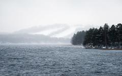 Cold Front (@Tuomo) Tags: jyväskylä päijänne säynätsalo finland winter lake december snowing nikon d810 nikkor 70200mm4