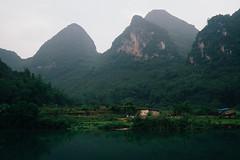Yulong River (Mathijs Buijs) Tags: yangshuo river li guangxi guilin green karst mountain landscape mountains south southern china canon eos 7d yulong asia