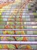 Lincoln Park Steps (kenjet) Tags: step steps color colorful tile tiles tilework art sf city climb climbing neighborhood lincolnparksteps sanfrancisco barr aileenbarr artist
