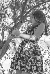 wonder (chiara ...) Tags: child monochrome girl trees