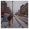 Bruxelles, ce matin (Jean-Marie Lison) Tags: x100t bruxelles ixelles avenueaugusterodin averse neige