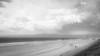 making a misting winter beach (fe2cruz) Tags: white bw monochrome blackwhite black blackandwhite canon beach ocean sand coastline clouds rain winter december decemberrain flickrfriday losangeles la california ca elsegundo marinelayer storm sundaylights