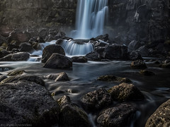 8 Seconds in Iceland (katrin glaesmann) Tags: iceland island unterwegsmiticelandtours photographyholidaywithicelandtours clouds somewhereiniceland atriptoremember wherestrangersbecomefriends longexposure waterfall öxarárfoss þingvellirnationalpark unescoworldheritagesite