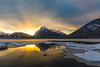1L0A8827 (kayaker72) Tags: mtrundle mountrundle vermilionlakes vermilion banff banffnationalpark banffalbertabanffcanada canada canadianrockies rockies rockymountains mountains snow sunrise
