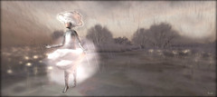 Dance In The Rain (Ursula Floresby...Kidnapped By RL) Tags: sl slart meilóminotaur capcatragu bergbynordanart thedreamers dream cloud mysticalfaeforest mystical dance surreal