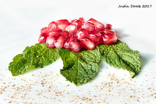 Pomegranate Macro