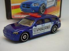 MATCHBOX DODGE MAGNUM NO5 POLICE CAR 1/64 (ambassador84 OVER 8 MILLION VIEWS. :-)) Tags: matchbox dodgemagnum diecast