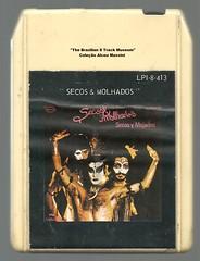"1974 - Secos e Molhados - mexico 8 track - fita cartucho de 8 pistas (""The Brazilian 8 Track Museum"") Tags: alceu massini vintage collection secos y mojados ney matogrosso gay outfit costume kiss"