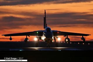 ZA588/056 - Panavia Tornado GR4 - RAF Marham Wing, RAF