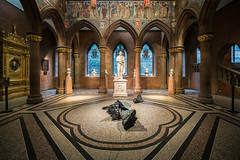 Scottish Heritage (McQuaide Photography) Tags: edinburgh scotland unitedkingdom greatbritain gb uk sony a7rii ilce7rm2 alpha mirrorless 1635mm sonyzeiss zeiss variotessar fullframe mcquaidephotography adobe photoshop lightroom handheld inside indoor interior building city capitalcity angle wideangle pov structure architecture scottishnationalportraitgallery artgallery art artwork sculpture statue artmuseum entrancehall frieze williamhole mural nopeople history heritage historic historical nationalgalleriesofscotland