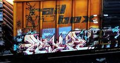 ramr (timetomakethepasta) Tags: ramr freight train graffiti art rail box boxcar rbox benching selkirk new york