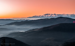 IMGP6392 (TomaszMazon) Tags: mogielica view beskidy morning sunrise tatra mountains poland