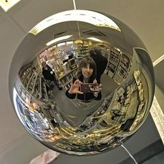 Selfie Sunday in the Shop (Jainbow) Tags: fareham shop reflection mirror jainbow