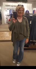 Kris in her Converse (krislagreen) Tags: tg transgender cd crossdresser jeans sweater converse femme feminzation femininized