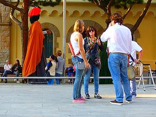 Camino de plaza de la Iglesia  (Castelldefels)