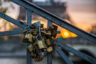 Lovers Lockers bookeh at...