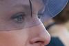 Chapeau le regard ! (Pi-F) Tags: visage femme voile voilette chapeau bleu regard oeil yeux profil
