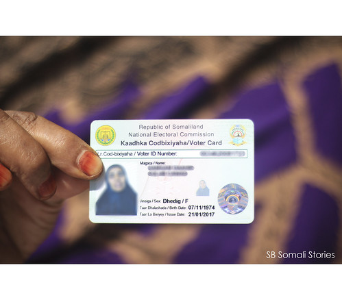 Voter ID its a must for every voter to have this ID before going to the voting centers