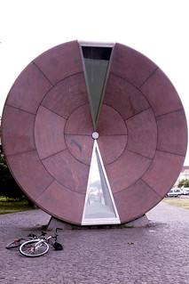 Budapest hourglass monument