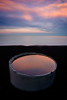 A bucket full of sky (ajecaldwell11) Tags: tide drain stormwater hawkesbay newzealand sunset ankh beach water pipe sky dusk napier caldwell clouds light