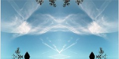 2017-11-22 clouds symmetry 3 (april-mo) Tags: symmetry collage clouds creative art artisticproject blue