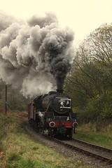 44806 (feroequineologist) Tags: 44806 lms black5 nymr northyorkshiremoorsrailway railway train steam