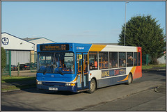 34816, Long March (Jason 87030) Tags: dennis dart slf pointer bus daventry northants northamptonshire november 2017 sony ilce nex lens tag flickr industrial estate roadside shot px06dwa 34816 d2