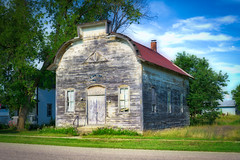 Star Township Hall (downstreamer) Tags: alba michigan building elmira unitedstates