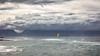 Yellow Jacket (Rich Lonardo Photo) Tags: maui hawaii hawaiian coast kitesurfer surfing boarding waves water storm ocean