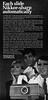 Nikkormat slide projector advertisement. (Jerry Vacl) Tags: advertisement bw nikon nikkormat slideprojector 196711'modernphotography' nikond7200 micronikkor40mmf28g nikkormatautofocus