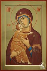 Владимирская икона Божией Матери (40х60)