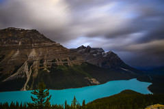 Wind (NUNZG) Tags: landscape nature mountain lake clouds outdoor canadian rockies alberta banff