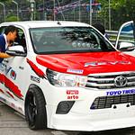 Toyota Hilux Revo at Toyota Fun Fast Fest at Phuket island, Thailand thumbnail