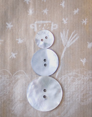 buttons (3OPAHA) Tags: buttons bows buttonsandbows macro hmm macromondays snowman sony