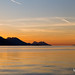 Dawn over the Peljesac peninsula