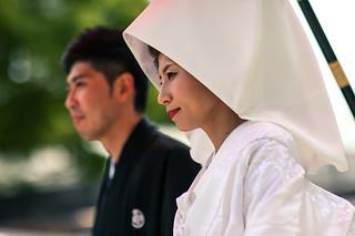 Shinto wedding bride
