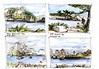 Sydney Harbour 4 views (panda1.grafix) Tags: millerspoint seascape sydneyharbour
