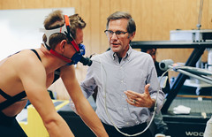 Team Hincapie Pro Cyclists Come to Campus for FIRST Testing (Furman University Official Page) Tags: cycling healthscience hincapie layphysicalactivitiescenter newspagefeature randyhutchison testing communityengagement greenville lab laboratory scottmurr exercise fitness hair haircut human people person sport sports workingout