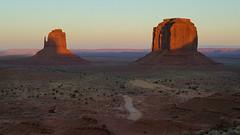 Buttes at sunset (gorbould) Tags: 2017 mittens monumentvalley navajotribalpark s6 usa utah america arizona butte buttes dusk evening phonepic samsung southwest sunset oljatomonumentvalley unitedstates us