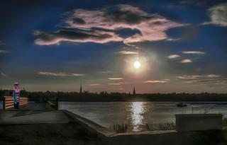 Sunset Over Newburyport