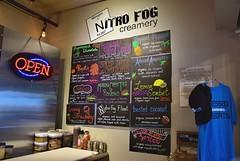 Nitro Fog Creamery (Menu) (jpellgen (@1179_jp)) Tags: food foodporn newmexico albuquerque travel roadtrip 2017 december winter nm nikon sigma 1770mm d7200 southwest usa america nitrofog creamery icecream liquidnitrogen