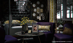 A place your feet may leave but your heart will always be. (B. Lockhearst) Tags: loft fancy decor interior arcade morgan bedroom purple gold candle mudhoney capiz modern contemporary table tea lamp apple fall lemon hudson bed headboard clock antique napa elegant frame mirror round circle corner magazine cozy cozey