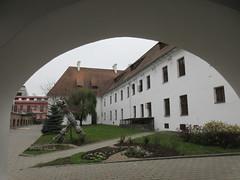 Arch framing Basilian Monastery, Minsk, Belarus (Paul McClure DC) Tags: minsk мінск belarus nov2017 architecture historic