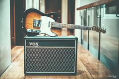 Simple Setup (Daniel Y. Go) Tags: nikon nikond810 d810 fx philippines vox voxac15c1 amplifier amp tubeamp telecaster fender