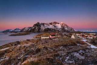 Evening at Henningsvær