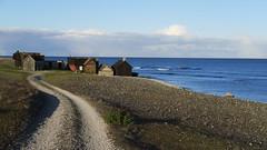 Helgumannen, Gotland (mpersson60) Tags: sverige sweden gotland fårö helgumannen hav sea stenar stones sjöbodar boathouses