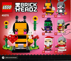 BrickHeadz 2018 sets (fuggoo) Tags: lego brickheadz 2018