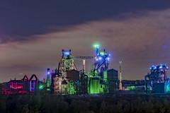 Light art (teamnullvier) Tags: duisburg lapadu landschaftsparkduisburg