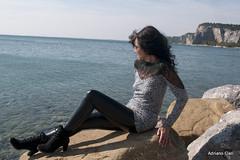 _DSC4138 (Adriano Clari) Tags: wife girl woman moglie donna portrait ritratto persone outdoor esterno wind vento glamour
